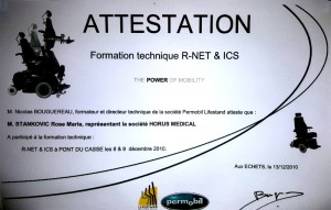 Attestation Formation technique R-NET & ICS